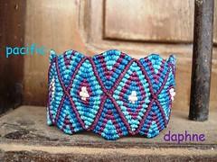 Macrame de Tijamuchi (pacificdaphne) Tags: handmade bolivia bracelet macrame pulsera makrame artesania tejido hiloencerado macraméμακραμέ
