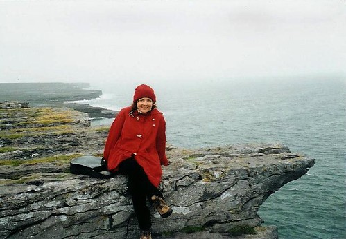 Sitting on the Edge of Inishmore