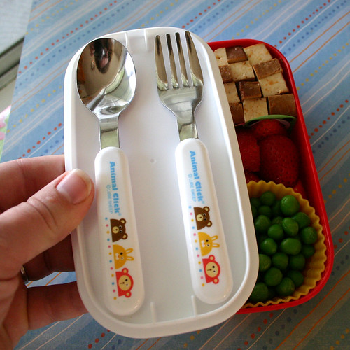 How a bento box is put together