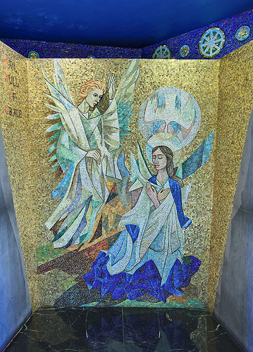 National Shrine of Our Lady of the Snows, in Belleville, Illinois, USA - First Joyous Mystery, The Annunciation