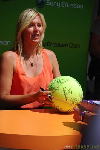 maria sharapova tennis 2009. Maria Sharapova - 2009 Sony