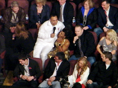 Russell Peters hosts the Juno Awards