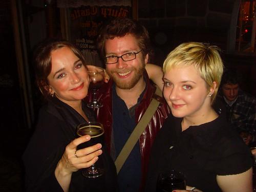 Jody Gnant, Dan Patterson & Kristen Crusius