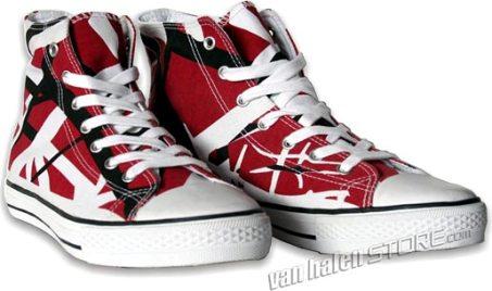 32cfe8c7feb61a Eddie Van Halen Striped Sneakers Now Available! - Blabbermouth.net