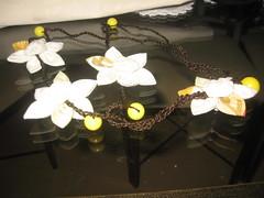 Colar de fuxico e crochê (Mar de flores) Tags: flowers flores fuxico yoyo fux croche fuxicos fuxicando crochetando fuxicaria fuxic