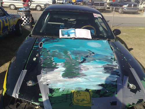 Paint your whip with Bob Ross