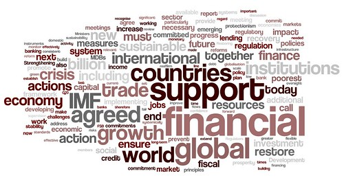G20 Communique in Wordle