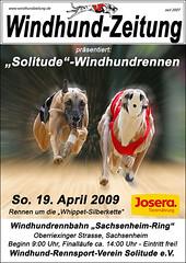 Sachsenheim Solitude Rennen - Plakat Whippets04