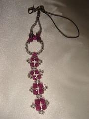Chaveiro de Cristais (Cestsumi) Tags: artesanato bijuteria cristal chaveiro