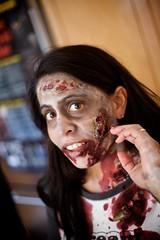 (Alexandre Aybes) Tags: birthday friends people blood zombie event gore description ef50mmf18ii jinas zombieparty stefanturns40