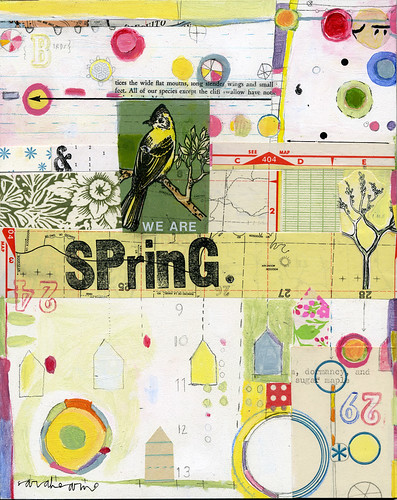 ,we are spring                                                       {(c) sarah ahearn. 2009.}