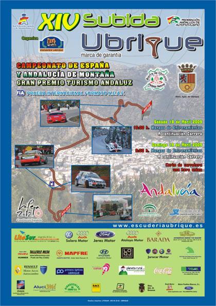 XIV Subida a Ubrique Marca de Garantía - Gran Premio Turismo Andaluz