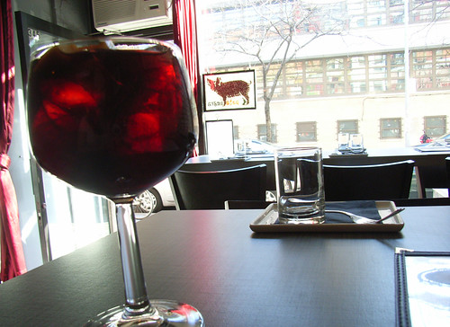 Sangria @ Pata Negra (my favorite spanish winebar) by you.