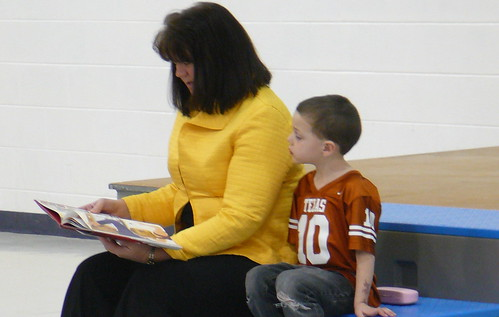 Celebrity Reader at Farrell