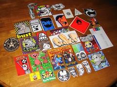 OHHHHH Pack x2 (joolsadat78) Tags: graffiti stickers obey bust zai ccc sei trade luigi tal slaps packs ohhhhh zaira tr