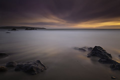 (maxxsmart) Tags: ocean longexposure sunset sky bw seascape beach water northerncalifornia clouds canon landscape sand rocks smooth tamales marincounty pointreyes dillonbeach ndfilter ndgrad singhray 5dmarkii