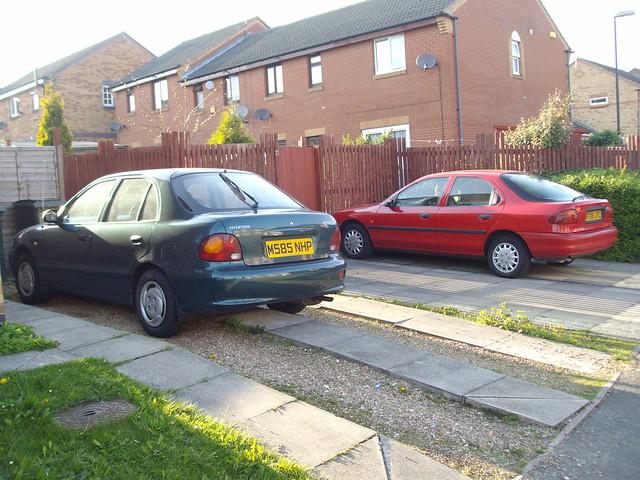 red green cars car back 1996 hatch 1995 saloon accent mondeo gsi hyundao carz