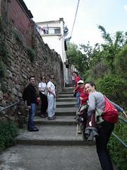 subiendo a Montserrat