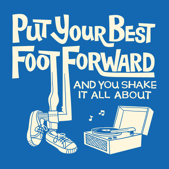 Put Your Best Foot Forward - TypeTees.com