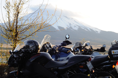Touring around Mt. Fuji