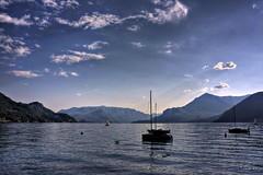 Blu (Lookaloopy) Tags: blue como canon lago eos boat lecco lario naturalmente dervio 450d