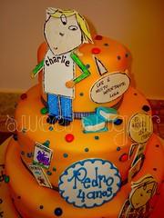 SWEET SUGAR - By Michelle Lanza - e Lola cake (SWEET SUGAR By Michelle Lanza) Tags: sweet michelle lola sugar charlie e bolo oficial lanza personalizado