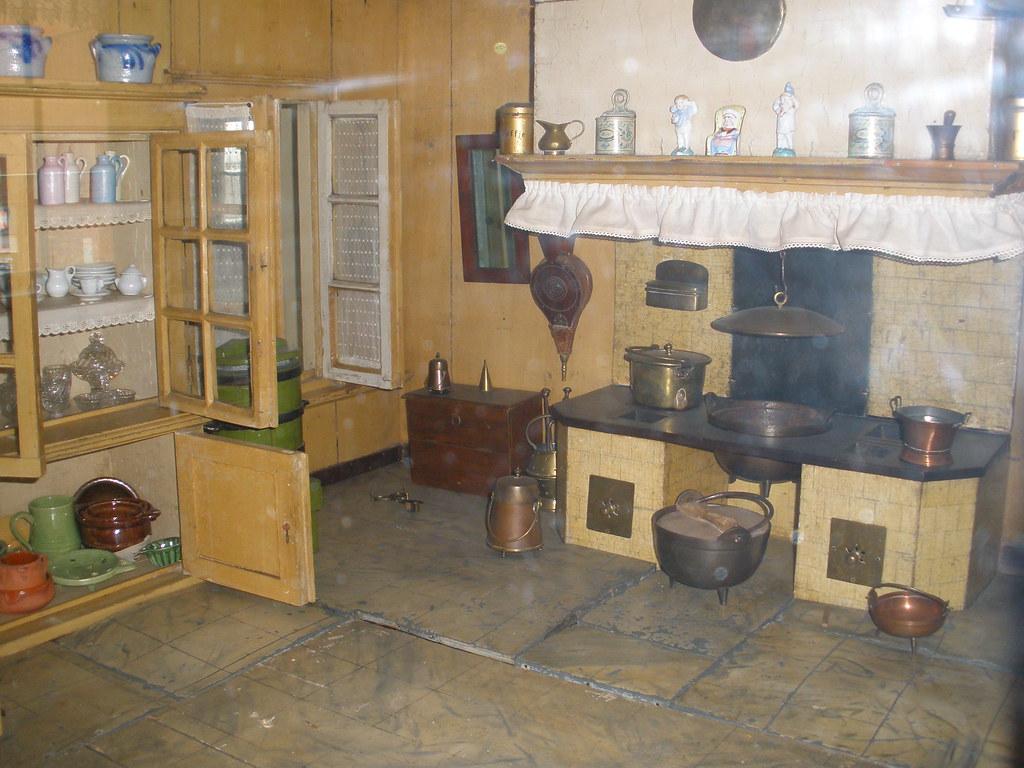 Child's Antique Play Kitchen