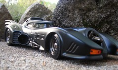 Batmobile 2003 (Sean Castor) Tags: hotwheels batmobile 118 canonpowershot moviecar diecastcars batmoblie