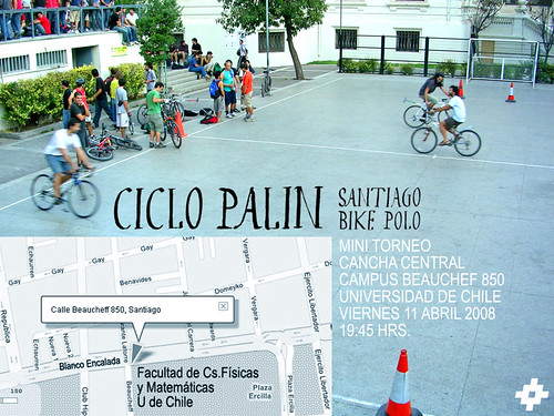 Ciclo Palin Santiago bike polo
