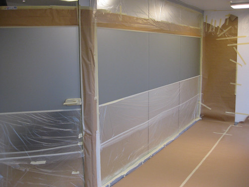 Graffitiauftrag Praxis Dr. Christian May/ Vorbereitung