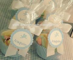 Marshmallow com tag personalizada
