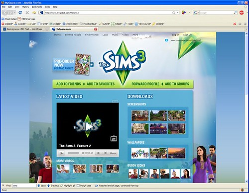 sims3myspace by you.