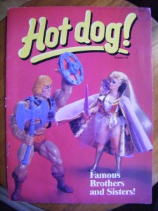 hot dog magazine - a scholastic publication