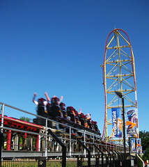 Top Thrill Dragster at Cedar Point