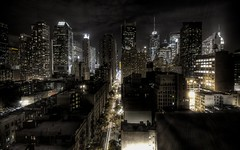 Skyline - New York City, New York at night