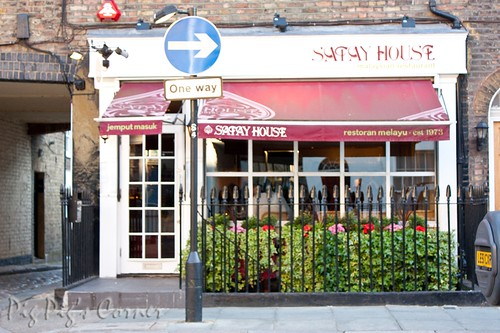 Satay house, london