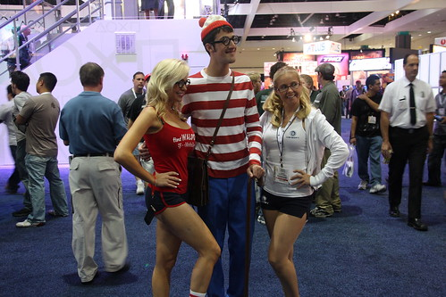 Not related to EA, but yeah, I found Waldo at E3 (click).