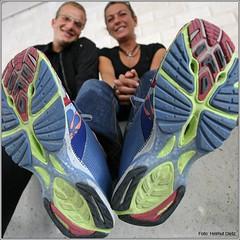 TransEurope FootRace 2009: Marcel Heinig und Elke Streicher