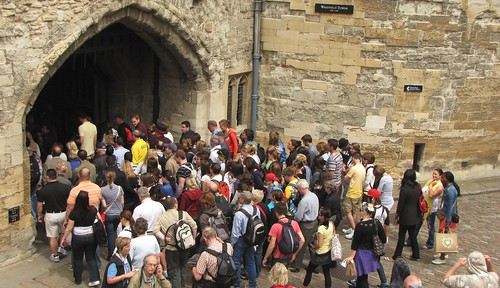 The Throng at the Tower