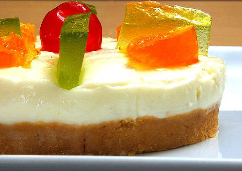 Cheesecake siciliano