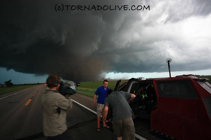 Aurora, Nebraska Tornado + Reed Timmer