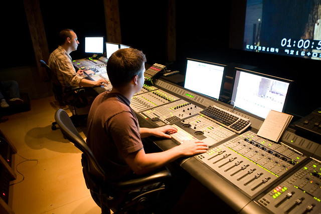 Sound Design for Visual Media and Film Production students at dbc sound