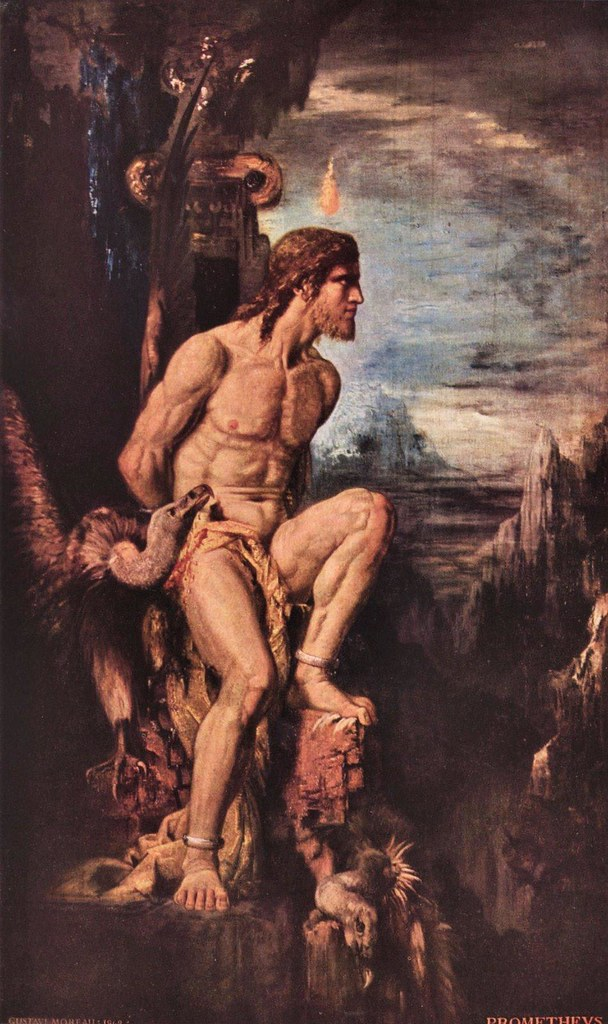 Prometeo de Gustave Moreau