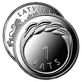 Latvia 2009 1 Lat