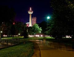 Niagara Falls Night 1 (_.Chris._) Tags: longexposure night lights niagarafalls skylontower