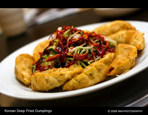 Korean Deep Fried Dumplings