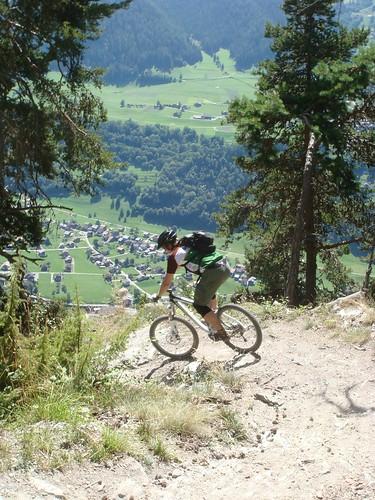 Mountain Biking Last Summer