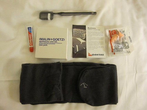 Qantas Business Amenity Kit