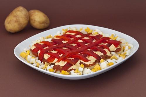 Ensalada de patata i pebres