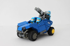 C-0T Alien Defender/Transport (Louis K.) Tags: blue light set lego alien transport version halo turret conquest warthog advanced defender variant adu 7050 c0t